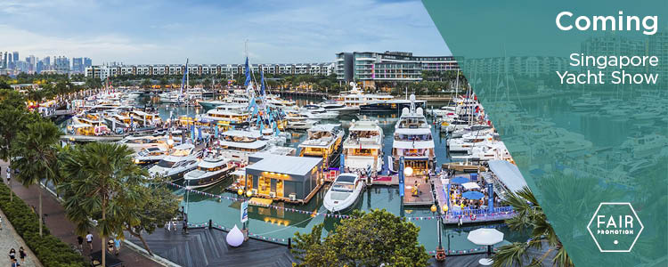 blog FairPromotion - Singapore Yacht Show 2019
